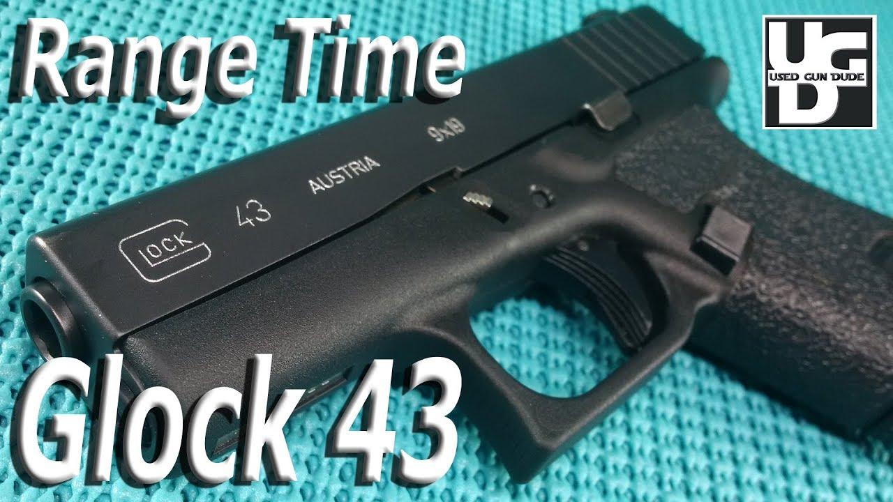 Glock 43 9mm Range Review, Yes it is all Glock