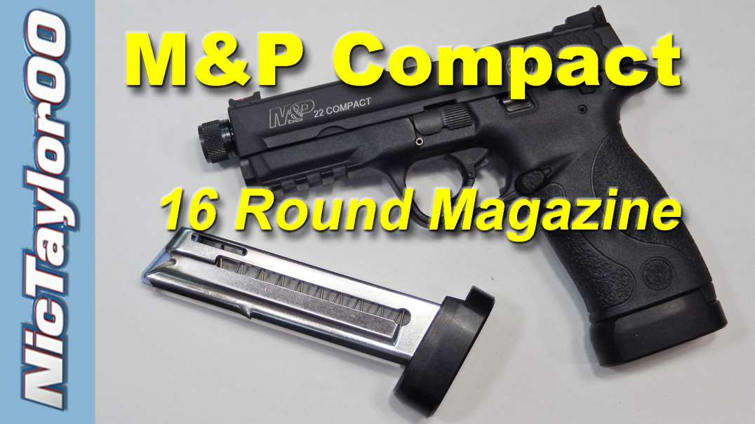 Smith & Wesson M&P22 Compact High Capacity Magazine Kit - 16 Rounds