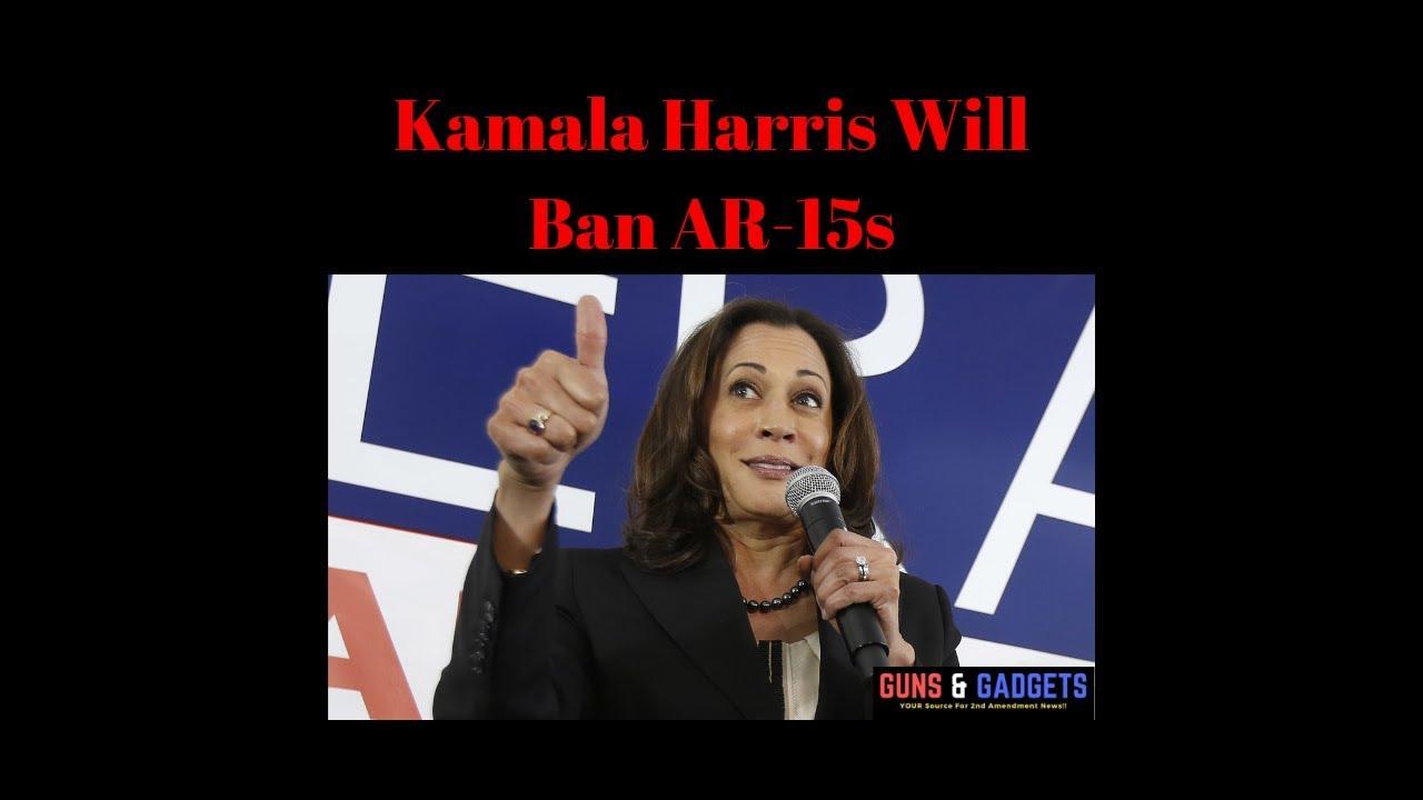 Kamala Harris Will Ban AR-15s