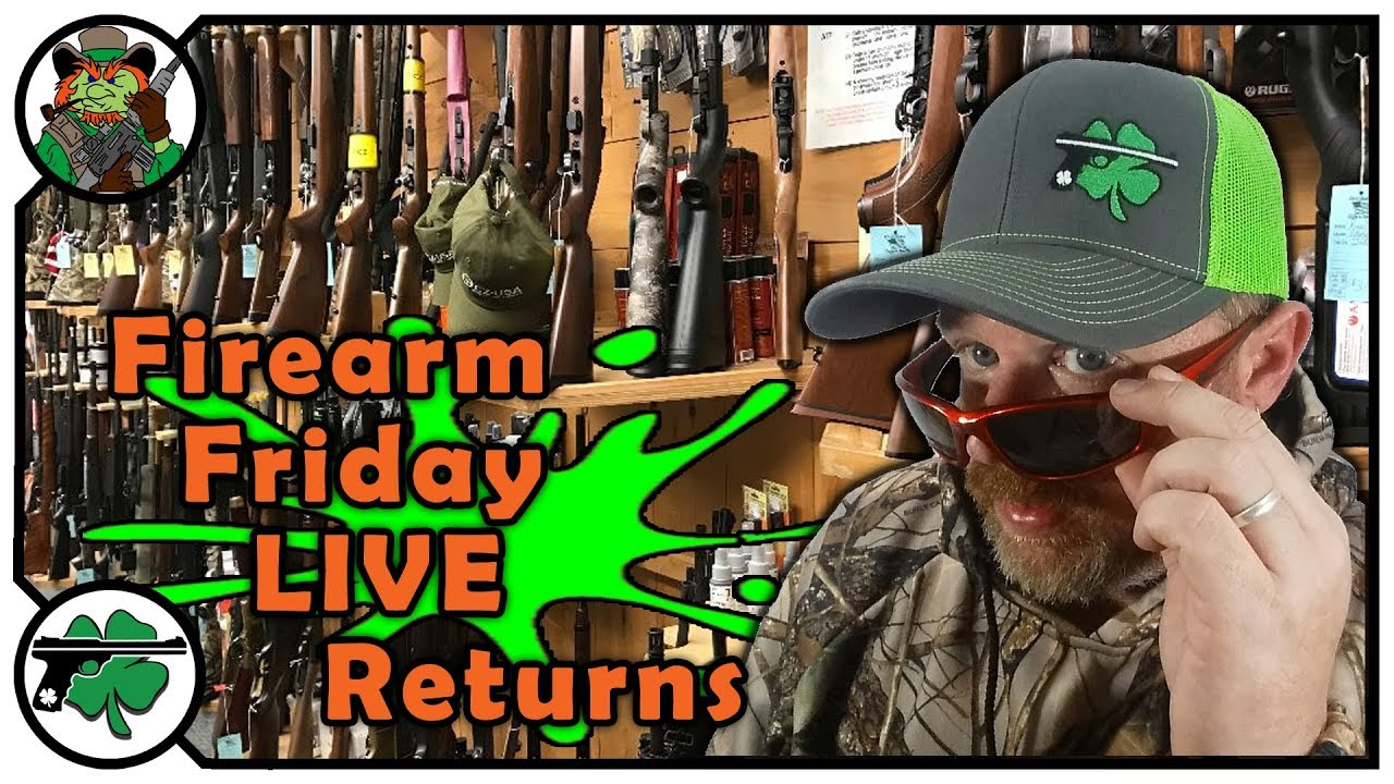 The Firearm Friday LIVE Podcast RETURNS!