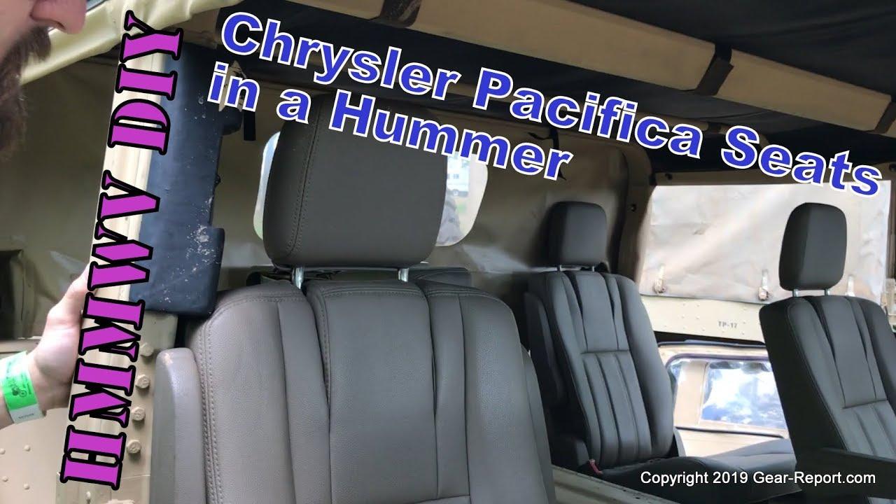 Humvee DIY: Aftermarket Seat Options - Chrysler Pacifica Seats