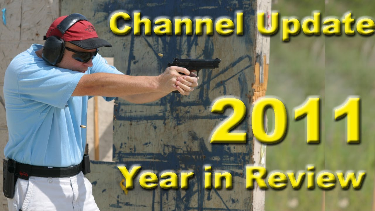 Year In Review for my Competition Shooting Channel NicTaylor00