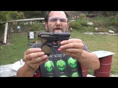 Taurus Spectrum  380 Review & Shoot
