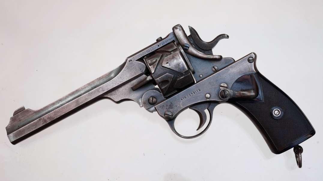 Webley-Fosbery Automatic Revolver - .455 Webley