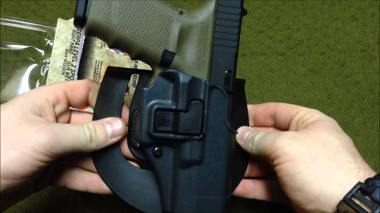 BLACKHAWK SERPA LEVEL 2 HOLSTER