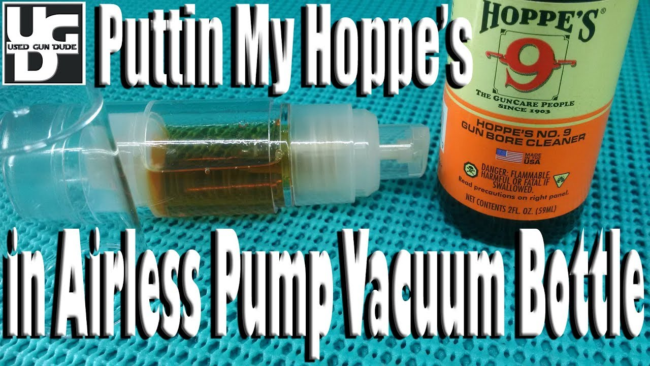 Airless Pump Vacuum Bottle for My Hoppe's #9 from the Ebay Review