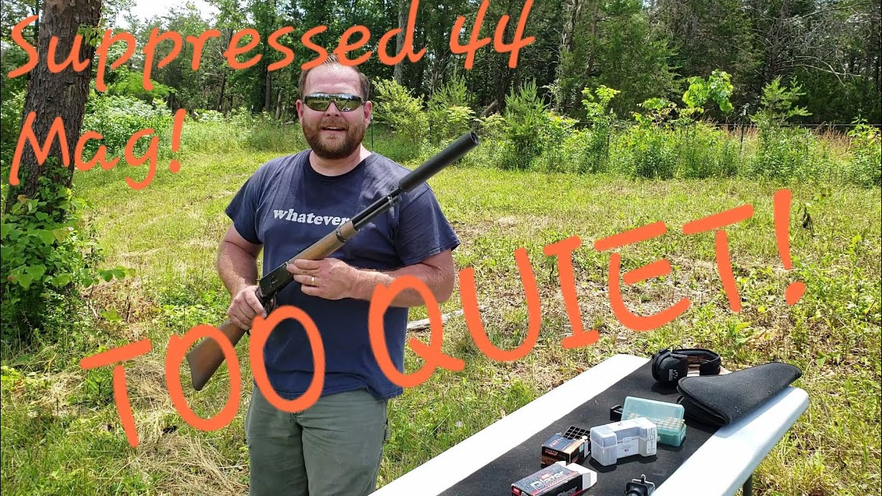 How Quiet Is A Suppressed 44 Magnum From A Distance?