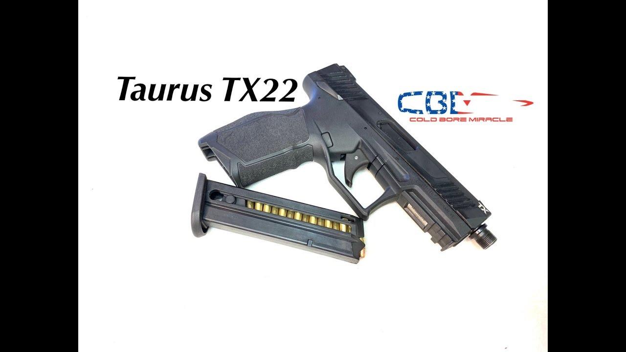 Taurus TX22 pistol