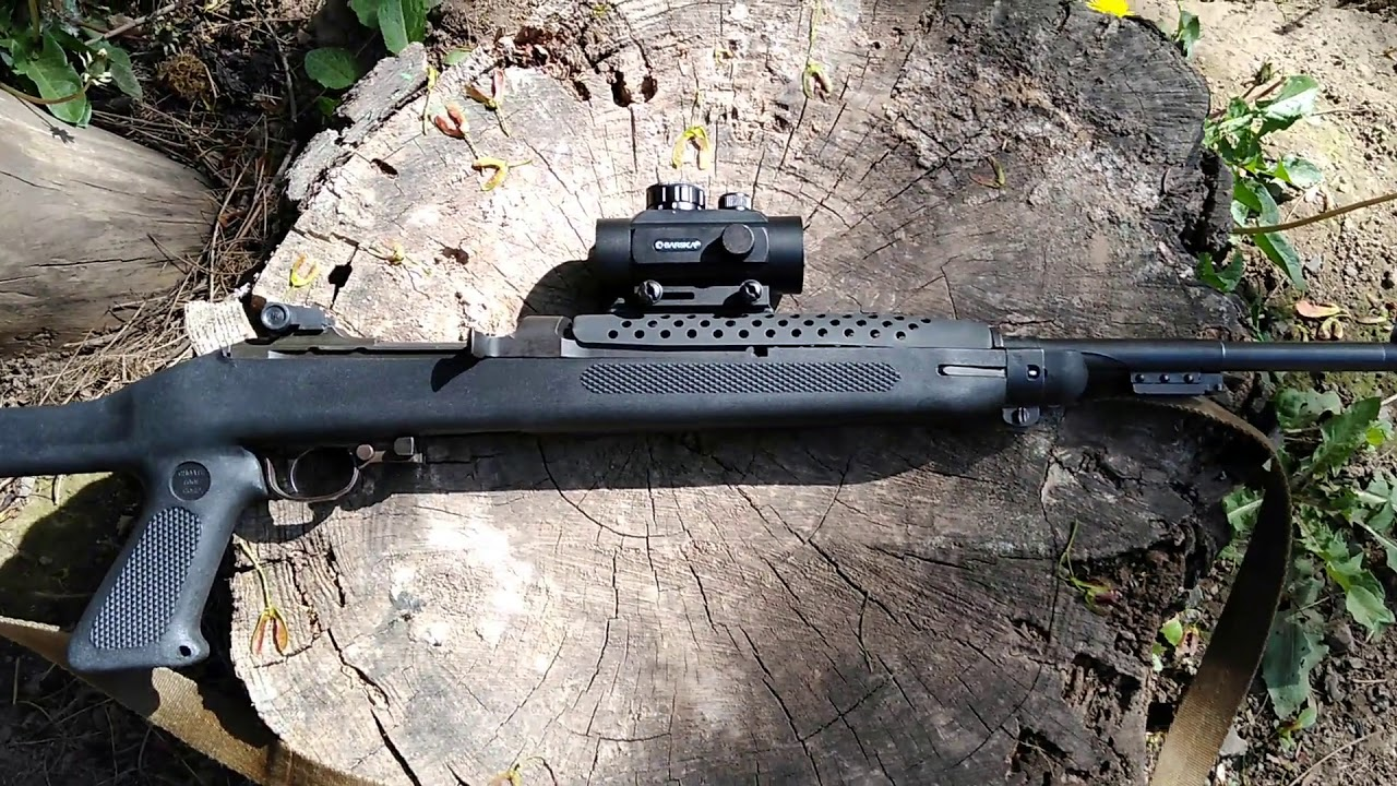 M1 Carbine Red Dot Project Continues