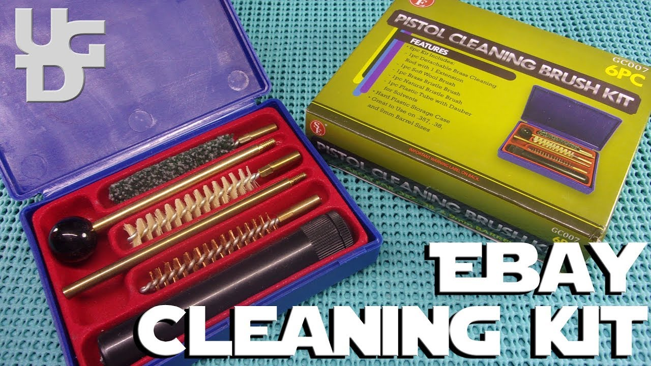 SE 6 pc Pistol Cleaning Kit from the Ebay GC007 for 9mm