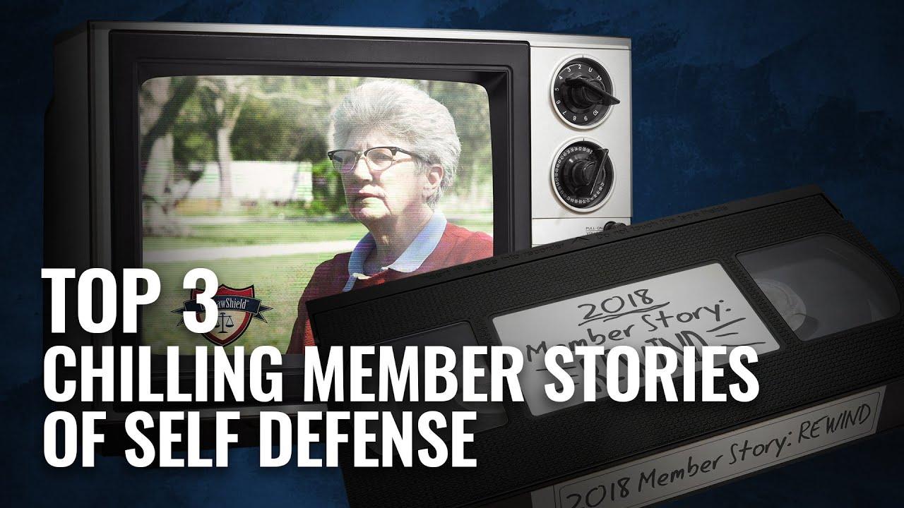 Top 3 Chilling Member Stories of Self-Defense