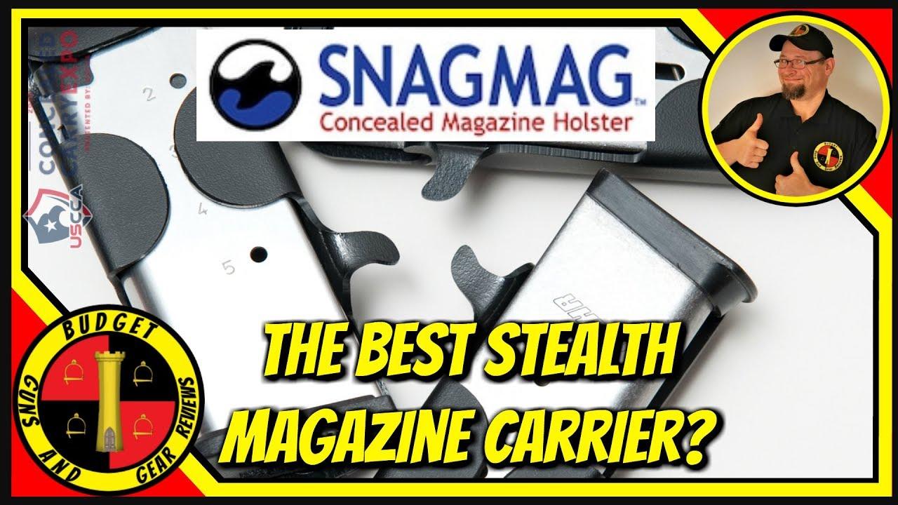 Snagmag Concealed Magazine Holster