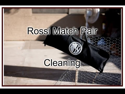 Cleaning the Rossi Match pair