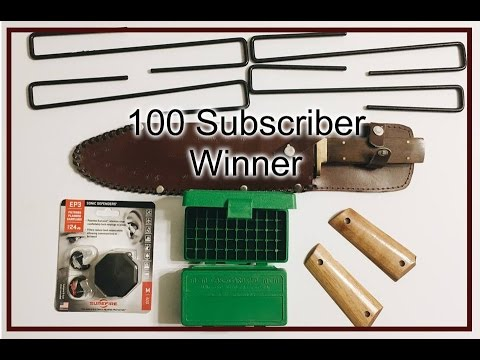 100 Subscribers Contest Winner Picked