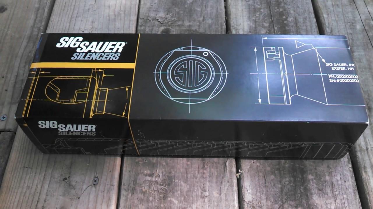 Sig SRD556 Suppressor, Quick look!