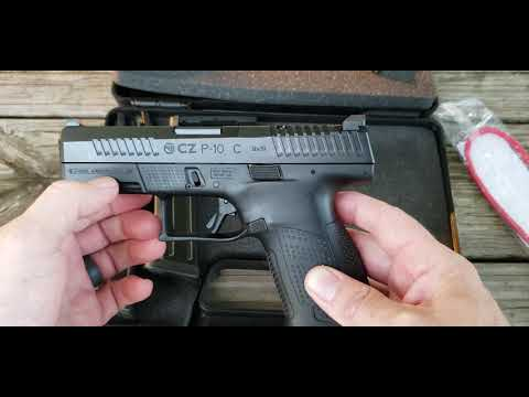 Optic Ready CZ P10C 95130