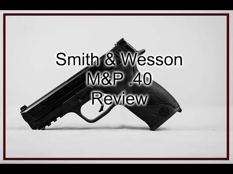 Smith & Wesson M&P .40 - used