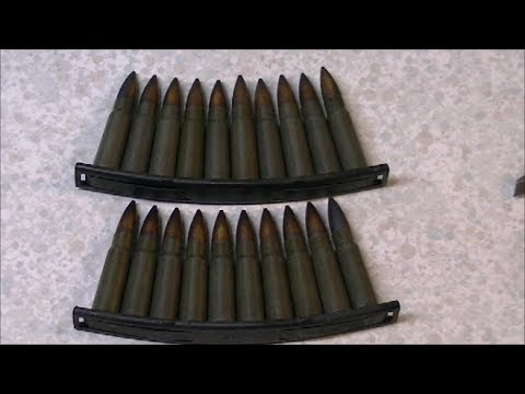 Czech 7.62x39mm M43 Ball Ammo Review, Part 1