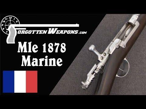 French 1878 Marine Kropatschek