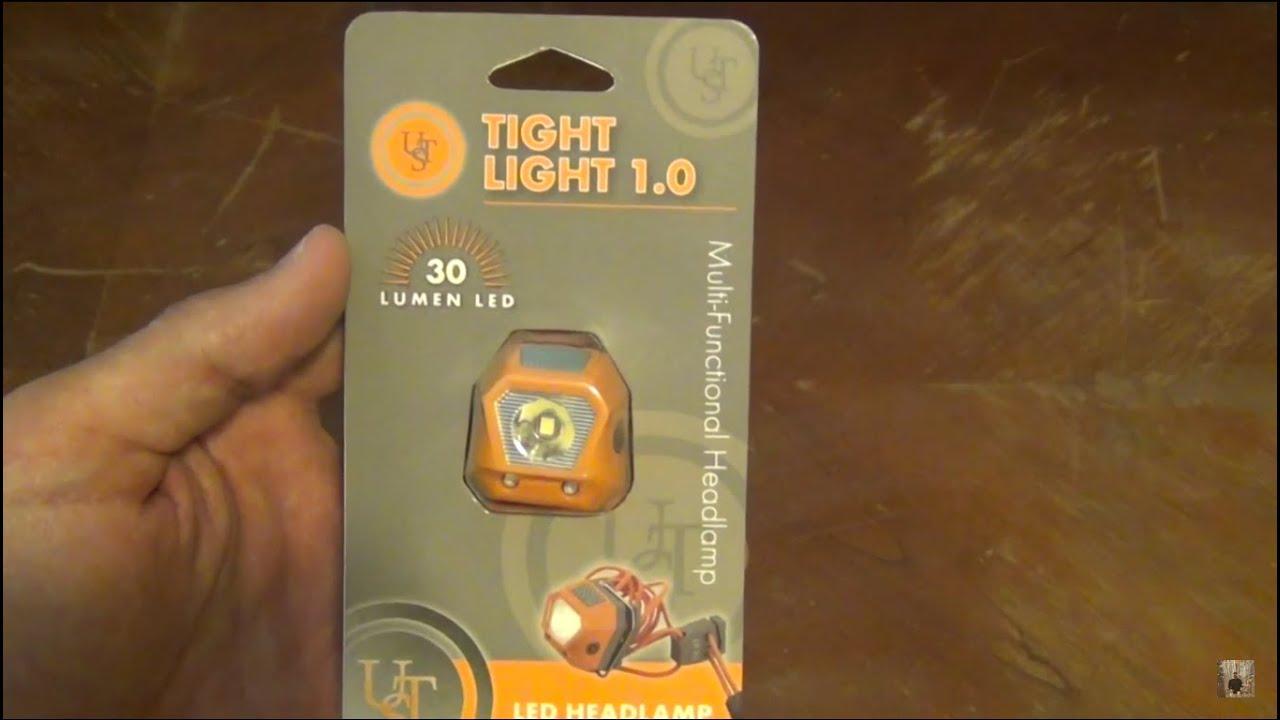 UST Tight Light 1.0 - LED headlamp