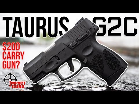 The Best $200 Carry Gun? Taurus G2c 9mm Range Test and Review