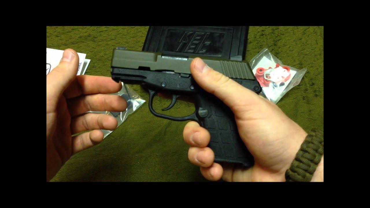 Shooting Kel-Tec PF9 9mm Pistol EDC HandGun Quick Shots Video