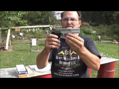 Smith & Wesson 622 Test Shoot