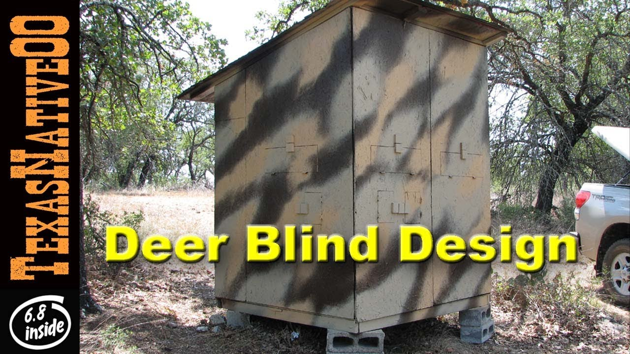 Deer Blind Design for Hunting with Children