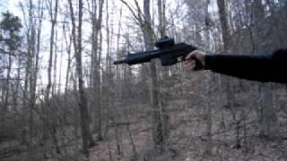 Shooting The Kel-Tec PLR-16 One Handed