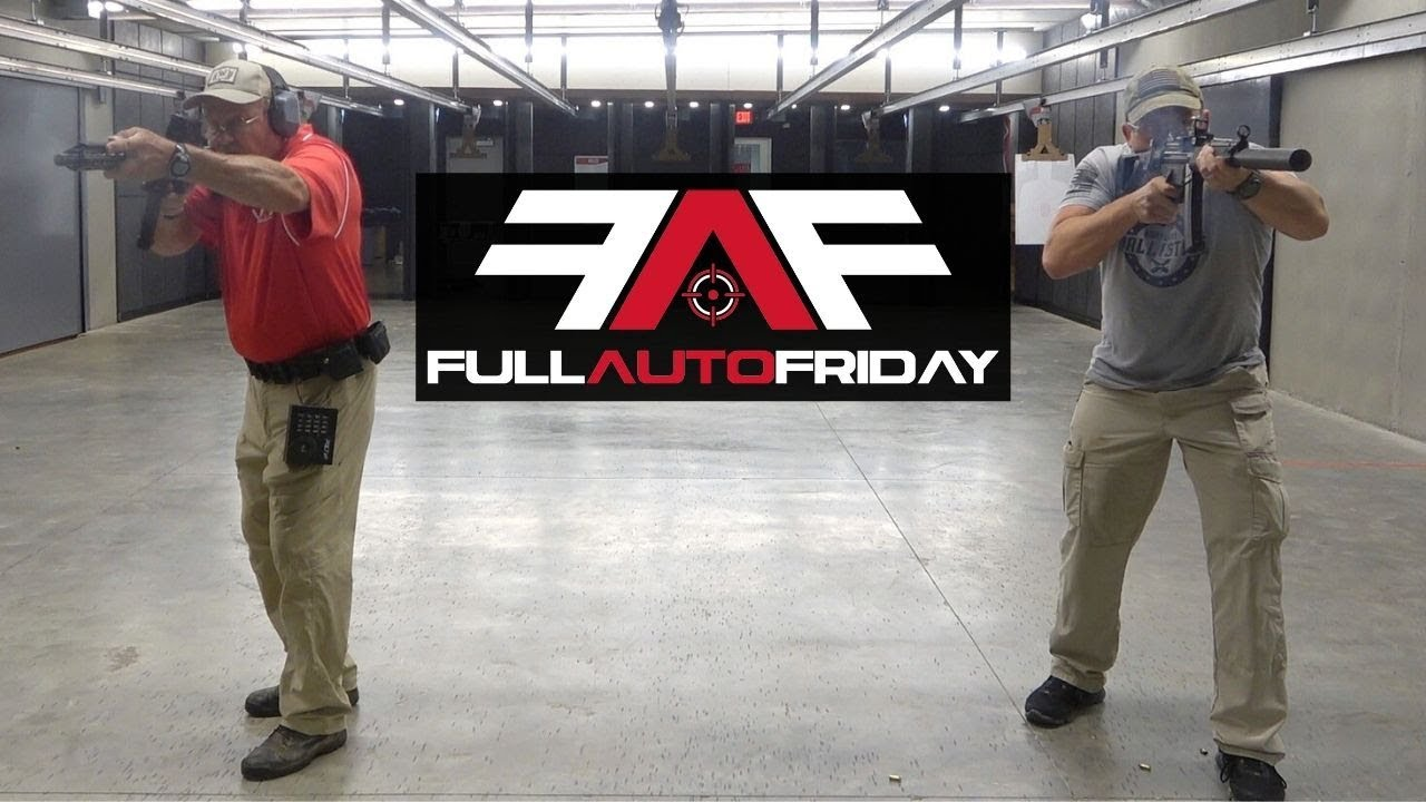 Full Auto Friday! Jerry Miculek vs MP5 💥