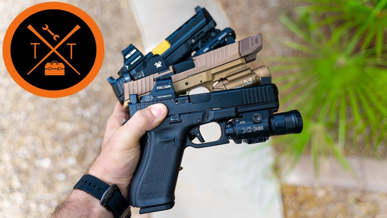 Which Modular Optics is the Best?? // Glock vs FN vs M&P (w/Links)