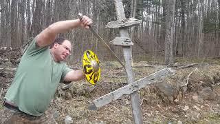 Sturzhau / Plunging sword strike practical use