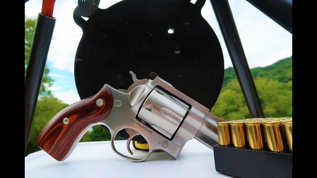 Ruger Redhawk .44 magnum - Shooting Steel