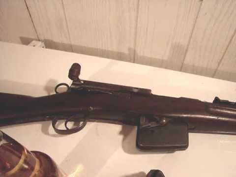 Model 1889 Schmidt-Rubin Bolt Disassembly