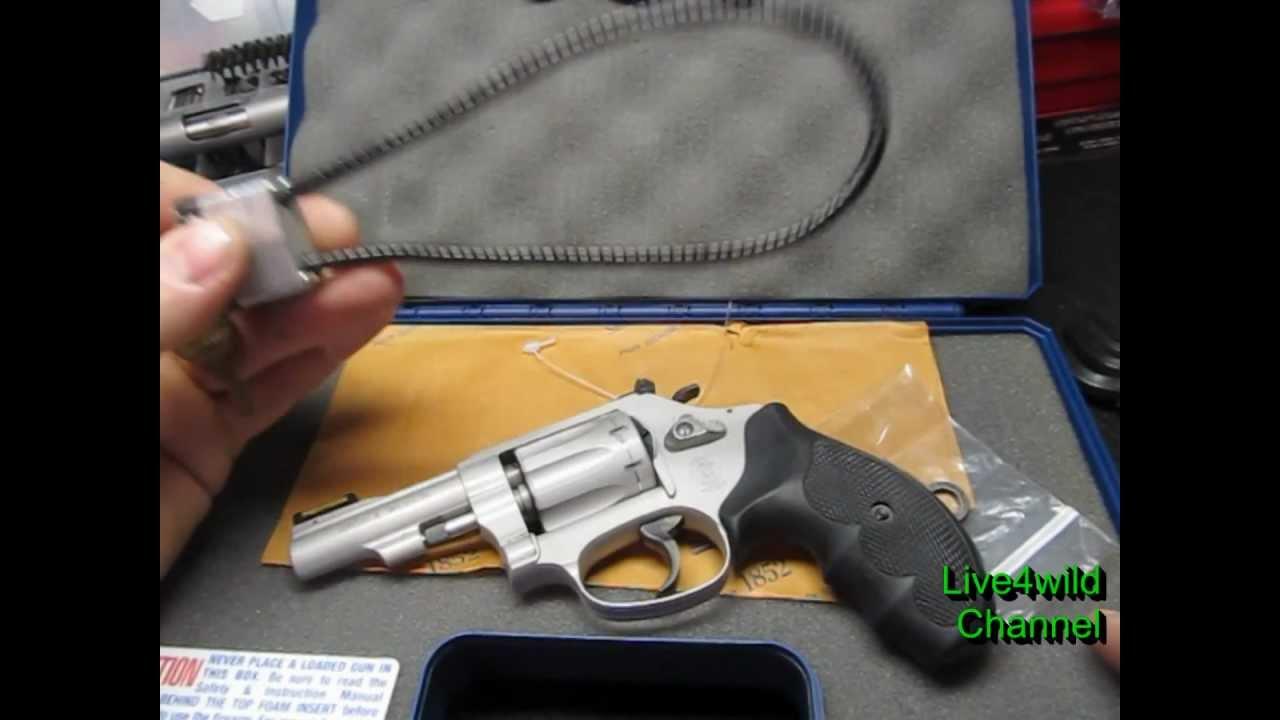 S&W 317 .22 revolver