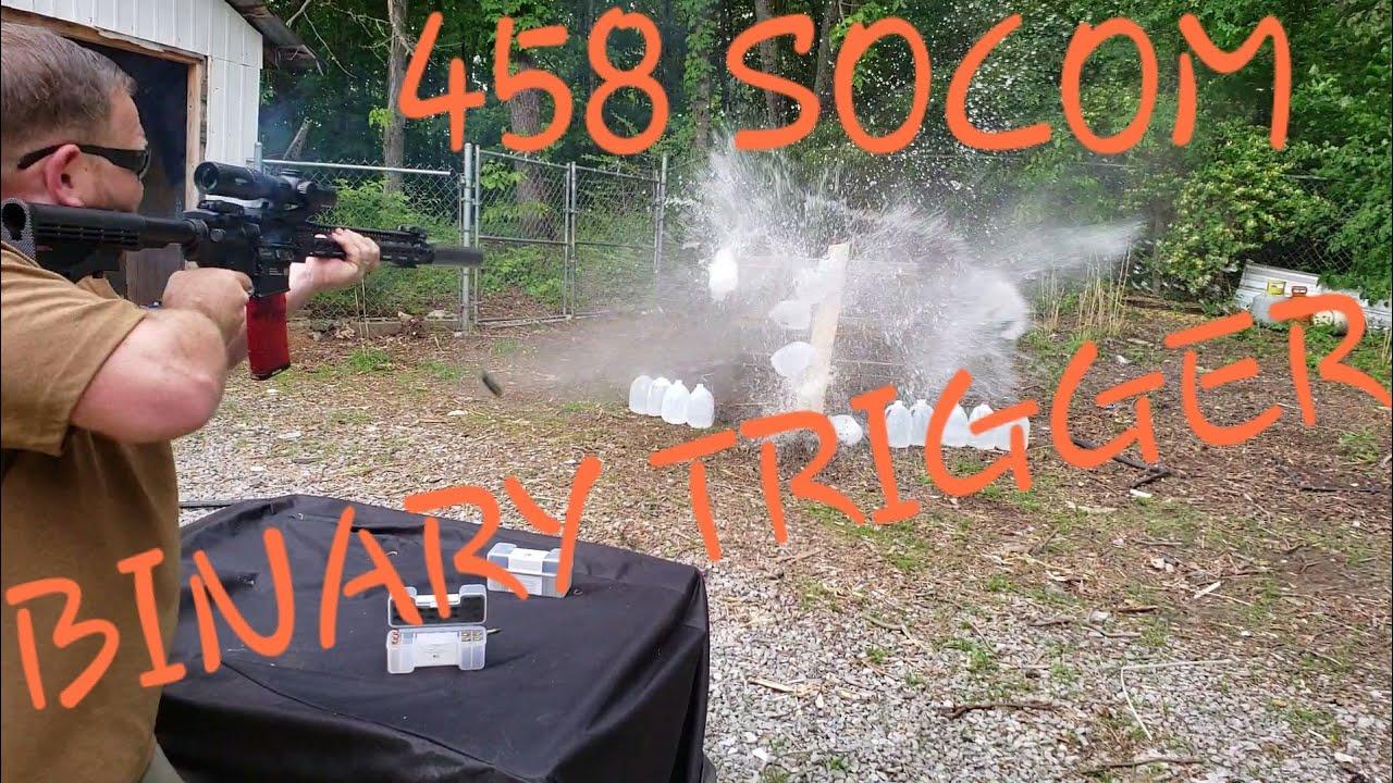 458 Socom Binary Trigger Experiment!