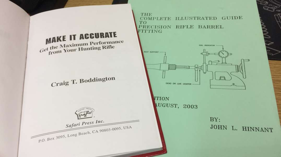Making your rifle accurate! A two book review.