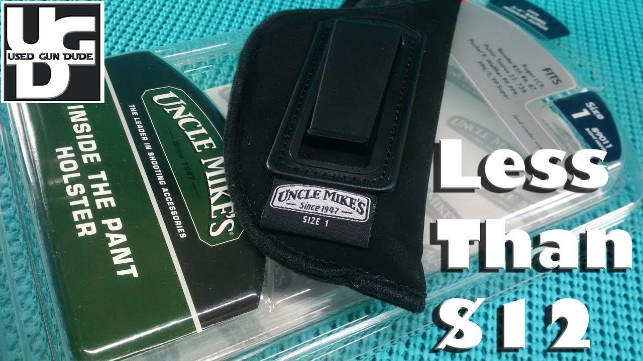 Uncle Mikes Inside the Pants Holter Review for my sweet Sig P938