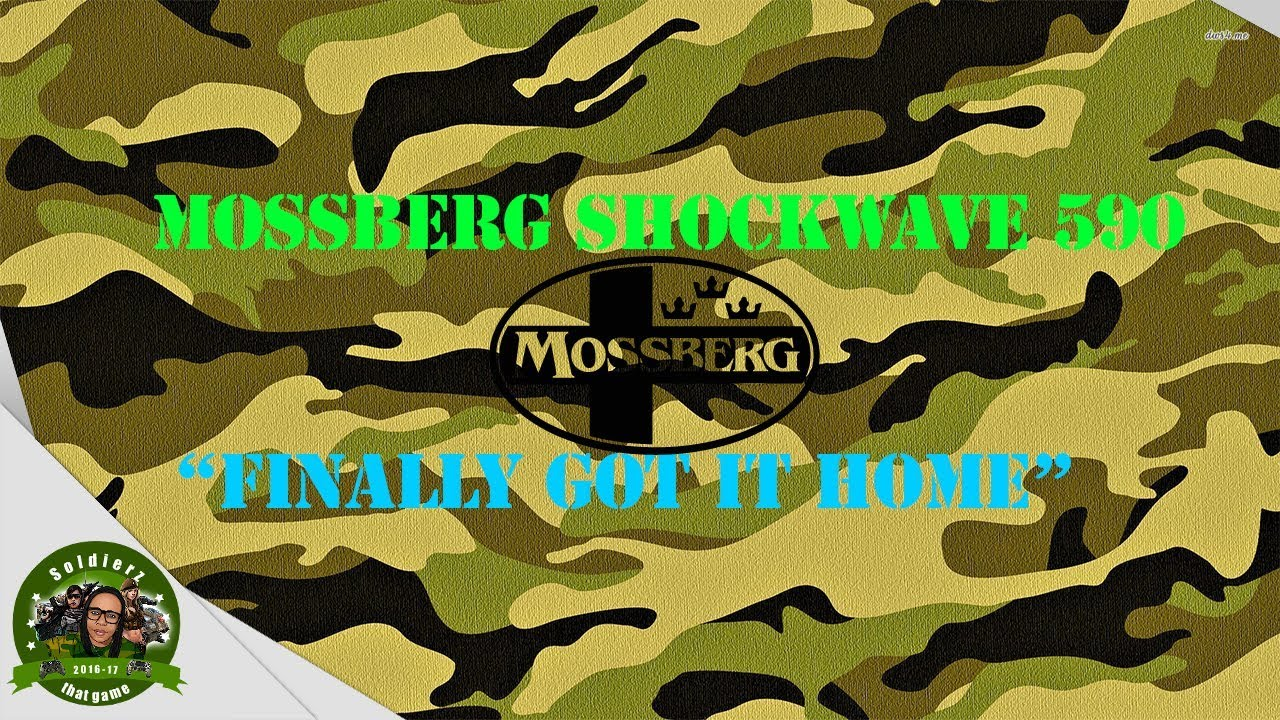 🔥Mossberg Shockwave 590🔥Pickup! 💪🏽