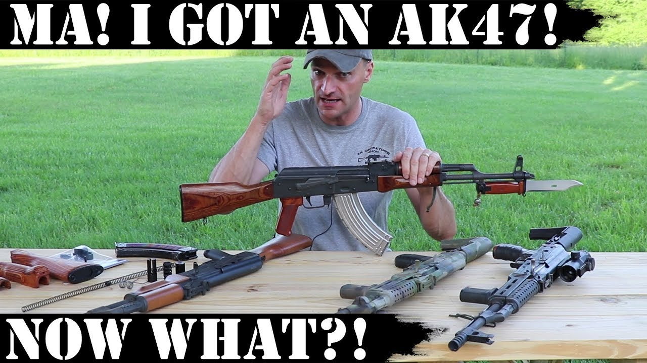 Ma! I got an AK47! Now what?!