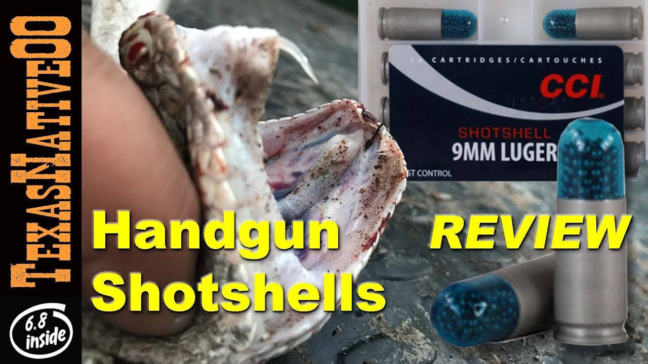 Snake Killer - CCI Shot Shells for Handguns, Are They Worth It?