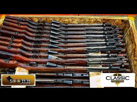 Surplus Chinese SKS Crate Opening at Classic Firearms
