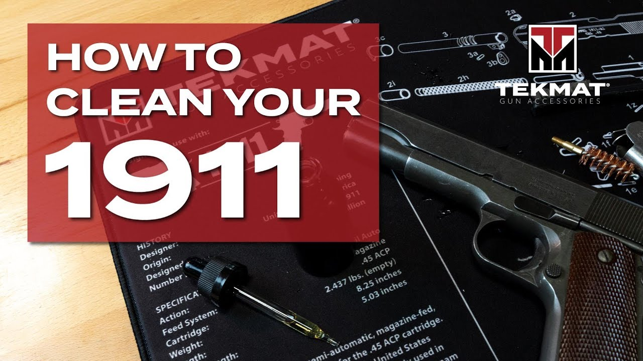 1911 | Basic Gun Cleaning