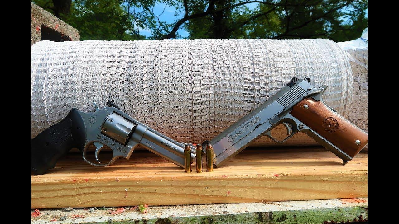 .357 Magnum - Revolver VS 1911