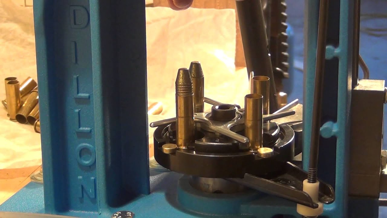 Reloading 38 special on the Dillon RL550B - HD (L).
