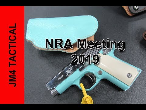 JM4 Tactical Holsters NRA Meeting 2019