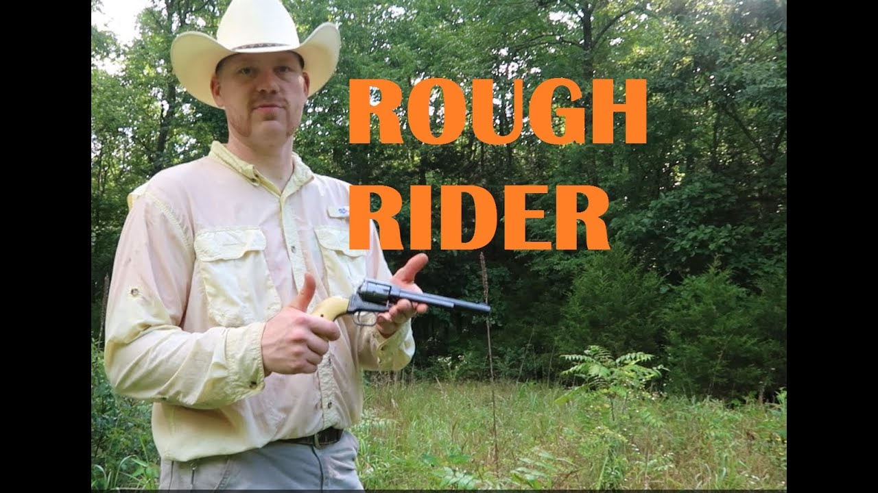 HERITAGE ROUGH RIDER .22 demo - WHO_TEE_WHO