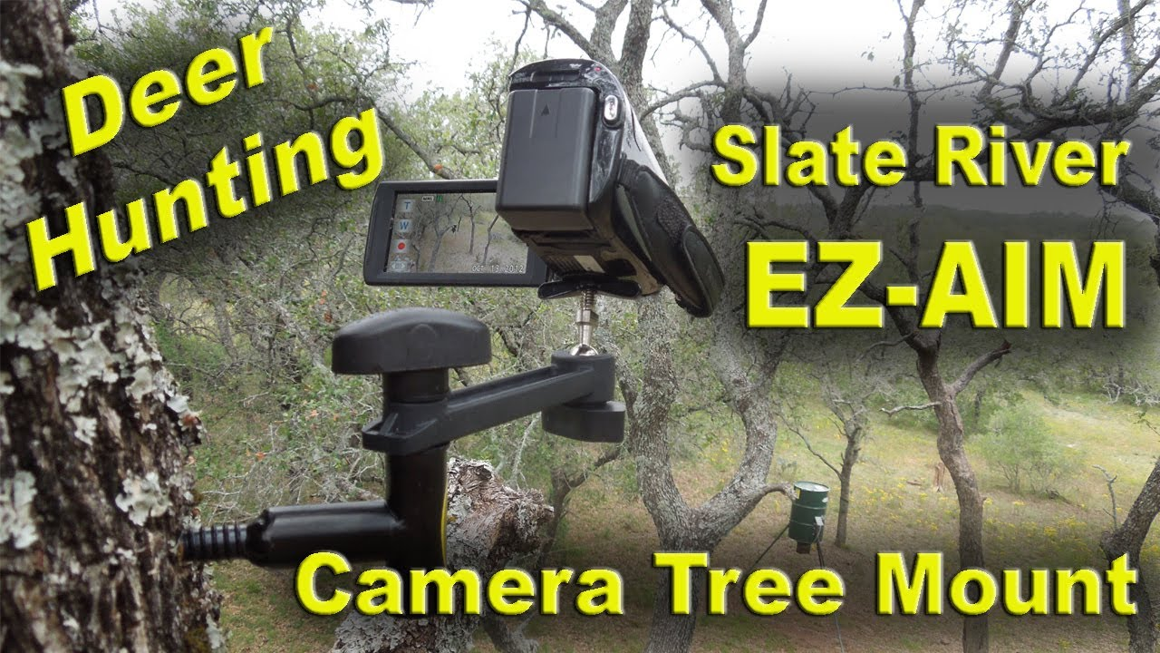 Video Camera Tree Mount for Filming Your Hunts - Slate River EZ-Aim