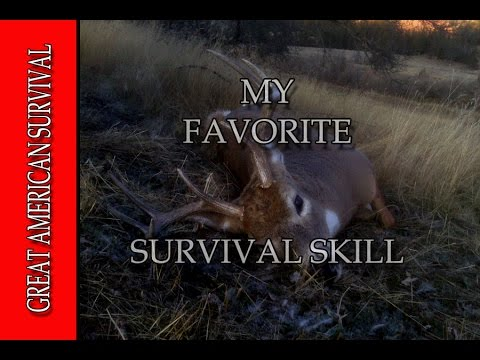 My Favorite Survival Skill - GREAT AMERICAN SURVIVAL