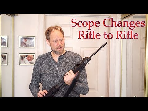 Scope moving from rifle to rifle